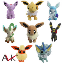 1pcs pikachu Plush Toy  18-30cm Eevee XY toys 8 styles Doll For Kids baby birthday gifts Anime Soft