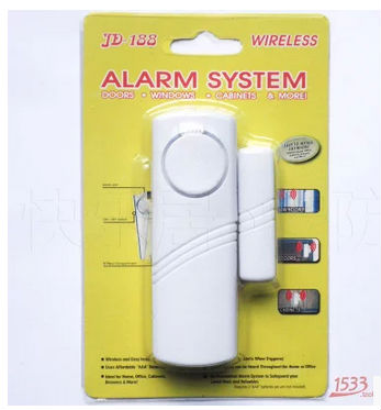 1pcs Magnetic Sensor Wireless Home Window Door Entry Anti Thief Security Alarm System(China)
