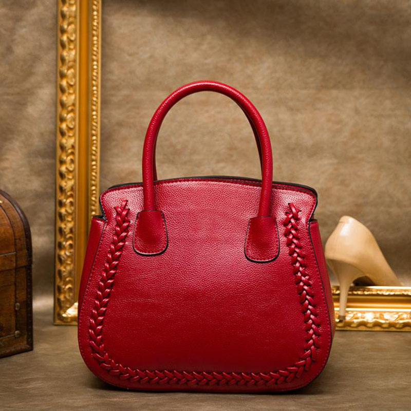 Soft Genuine Leather Womens Handbag Ladies Shoulder Bags Satchel Purse Fashion Women Messenger Bags Crossbody Tote sac a main<br><br>Aliexpress