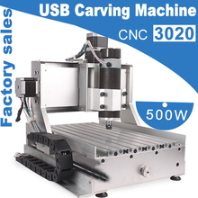 500W USB carving machine Mini Desktop Engraving Machine CNC 3020 3 Axis Router Engraver Milling Drilling(China)