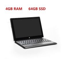 "10"" Windows 10 netbook laptop touch screen 4GB 64GB EMMC In-tel Z8350 Quad core, bluetooth dual camera ultrabook notebook"