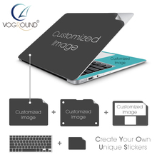 VOGROUND Customized Hot DIY Custom Protective Anti-Scratch Ultra Thin Vinyl Sticker Decal for Macbook 11 12 13 15 inch