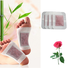 4Pcs Antistress Detox Foot Patches Pads Body Toxins Feet Slimming Cleansing Herbal Adhesive Skin Foot Massage Health Z06104