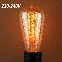 incandescent vintage bulb golden style Retro Edison Light Bulb for home bar hotel coffee shop decoration ST64G E27 40W