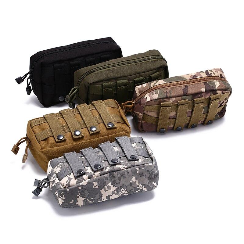 Bolsa de cinturón táctico molle militar Bolsa Revista Soporte para teléfono Bolsas Paquete De La Cintura