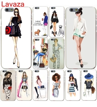 Lavaza street fashion by Houston Dress Fashion Shopping Girl Hard Case for iphone 4 4s 5c 5s 5 SE 6 6s 6/7/8 plus X case(China)