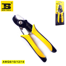 "wholesale price BS442267 wire stripper cable cutter 7"" AWG 1.6-3.2(8-14)"