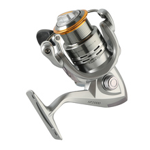 pesca Aluminum fishing reel 1000 2000 3000 fishing reel fishing coil carretilha 9+1 BB 5.1:1 215g spinning reel