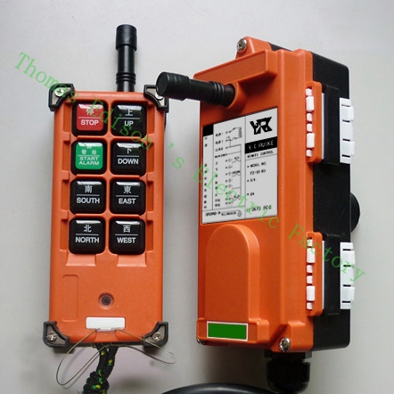 Top quality industrial remote controller switches 18-65V.65-440V  1 transmitter + 1 receiver AC220V<br>