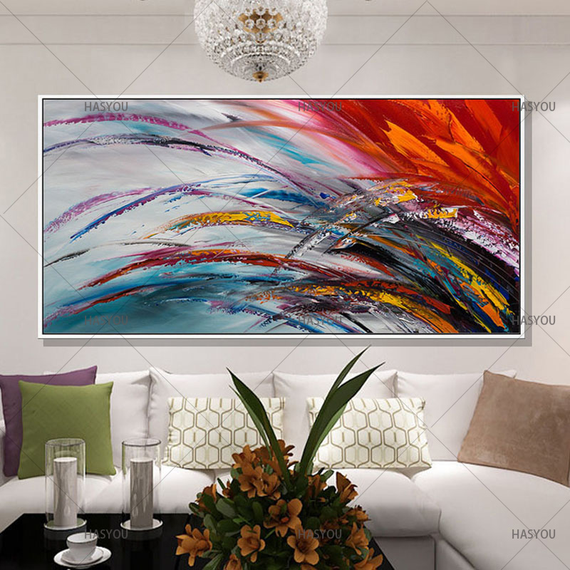 JYJ-ART-Colorful-Hand-painted-Modern-Abstract-Oil-Painting-on-Canvas-Wall-Art-Gift-for-Living (1)