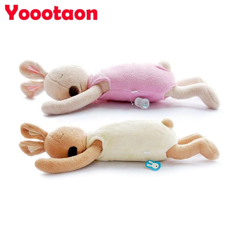 70cm Original Le sucre Rabbit Stuffed doll Soft sleeping bunny Animal plush kids toys High quality baby sleeping rabbit toy gift<br><br>Aliexpress