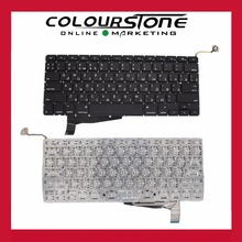 "Russian laptop keyboard For Macbook Pro 15"" A1286 Keyboard Russian Layout year 2008 No frame Small enter key MB470 MB471"