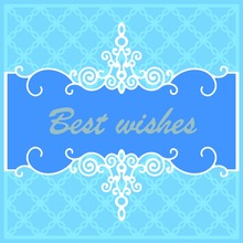 For DIY Scrapbooking Photo Album Paper Card Craft Best wishes Embossing Metal Cutting Dies Stencils Scrapbooking