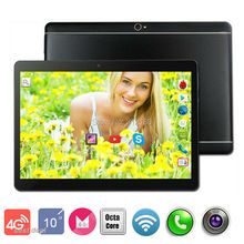 10 inch 3G 4G LTE Tablets mt8752 Octa Core Android 6.0 RAM 4GB ROM 64GB Dual SIM Cards 1280*800 IPS HD 10.1 inch Tablet PCs+Gifs