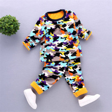 2-5T children thermal underwear for boys winter mother & kids girls clothing set warm long johns girl boy autumn Value Baby FC-1(China)
