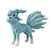 Blue Ninetales Amime Puppets Toy Plush Soft short plush stuffed toy for Children Companion gift(China)