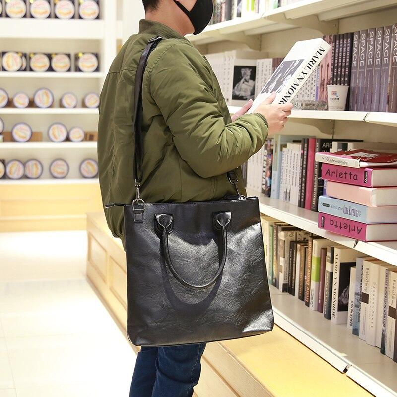 New 2017 designer brand men messenger bags black PU leather bag for men leisure shoulder handbag mens travel bags<br><br>Aliexpress