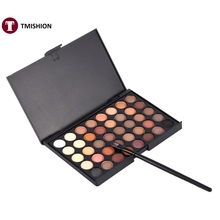 Cosmetic Matte Eyeshadow Cream Eye Shadow Makeup Palette  Set 40 Color With Brush