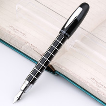 1PCS/LOT Authentic hero 1037 charm CaiQi iridium fountain pen pen cap spiral students practice calligraphy pen