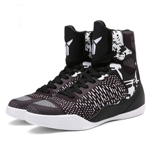 2017 new basketball shoes men women sport air sneakers high ankle Boots Trainers Zapatillas Retro Basket james size 9 10 11(China)