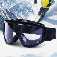 New Skiing Snowboard Snowmobile Anti-fog Goggles Windproof Dustproof Glasses Skate Ski Sunglasses Eyewear