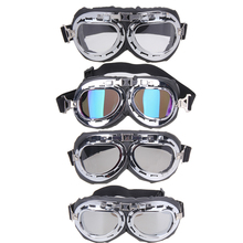 Buy MTB Bike Bicycle Goggles Glasses Vintage Harley Style Motorcycle Gafas Retro Scooter Sports Goggle Glasses Aviator Pilot Cruiser for $2.52 in AliExpress store