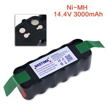 [2017 Upgraded] NASTIMA Ni-MH Battery 3000mAh For iRobot Roomba 500 600 700 & 800 Series-Black bateria,UL&CE certified.