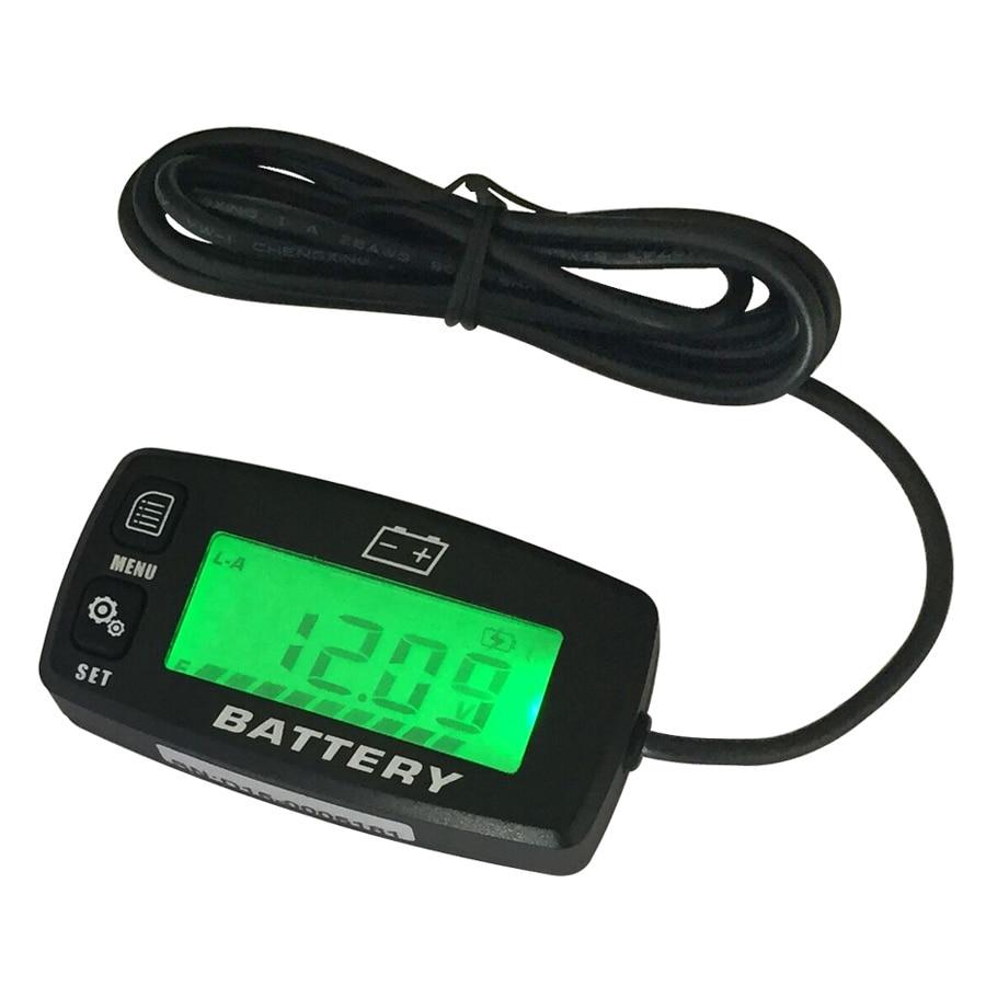RL-BI008 Battery Gauge battery GEL LiFeO4 AGM Voltmeter battery indicator FOR Auto Motorcycle ATV Tractor Trolling Motor car<br>