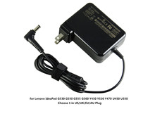 65W Factory Direct Laptop AC Power Adapter Charger For Lenovo G530 G550 G555 G560 Y450 Y530 Y470 US/UK/EU/AU 19V 3.42A