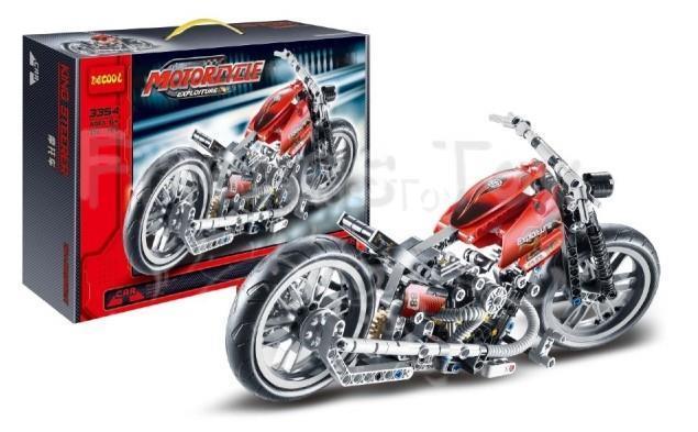 378Pcs Technic Motorcycle Exploiture Model Harley Vehicle Building Bricks Block Set Toy Gift Lepin<br><br>Aliexpress