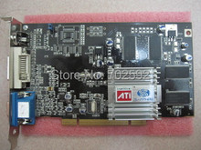 PCI video cards for  ATI 7000 LP dual screen with AV output VOD IPC multi-screen card