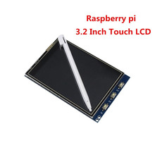Arrival 1Pcs 3.2 Inch LCD Touch Screen Display Monitor Module For Raspberry Pi 3 B B+