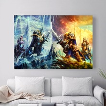 World Of Warcraft Watercolor Canvas Art Print Painting Poster Wall Pictures For Living Room Home Decoration Wall Decor No Frame