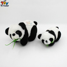 Wholesale 100pcs Plush China Bamboo Panda Pendant Toys Doll Stuffed Animal Wedding Party Birthday Gift Bag Accessory Triver