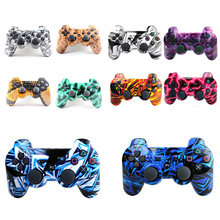 Newest 24 kinds Styles Bluetooth Wireless Game Controller for PlayStation 3 PS3 Dualshock 3 SIXAXIS joystick vibration Controle