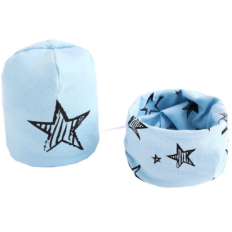 star light blue hat set