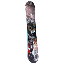 61 Inch Shooter Monster Face Adult Freeride Skiing Snowboard Board Leisure Aluminum Sandwich Panel Single Board Snowshoes Sled(China)
