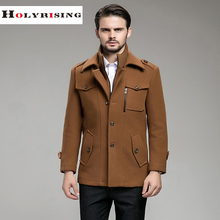 new 3XL mens coat winter jacket men manteau homme Male medium long men wool coat overcoat outwear men clothing 3 colours