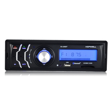 New 12V Car Stereo FM car Radio Bluetooth MP3 Audio Player Support Bluetooth Phone USB/SD MMC Port 1 Din Car DVD Player(China)