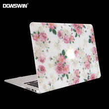 case for macbook,dowswin for macbook 11 air 13 15 pro with retina 12inch hard pc cover with matte transparent keyboard protector(China)