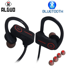 ALANGDUO G6 Bluetooth Headphones IPX7 Waterproof Noise Canceling Headphone Sport Wireless Bluetooth Earphone Bass With Mic(China)