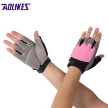 Gym Body Building Training Sports Fitness WeightLifting Gloves For Men And Women Custom Fitness Exercise Training Gym Gloves(China)