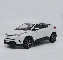 New 1:30 Toyota C-HR 2017 Diecast Model Car For White Silver Alloy Toy Car For Kids Gifts Collection Free Shipping(China)