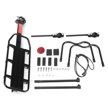 New Arrival Aluminum Alloy Load 25 KG Bicycle Racks MTB Mountain Road Bike Rear Rack Install Component Bike Luggage Carrier