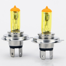 Universal Car Halogen H4 Headlight Bulbs Bright Golden Yellow Lights 100W / 90W 12V Lamp Auto Light Source External Lights(China)