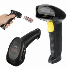 Wired USB Laser Barcode Scanner Handheld Scanner Automatic Bar Code Reader Auto Scanning Gun POS Scanner for Inventory Supermark