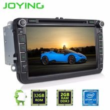 2GB 2 Din Android 6.0 Quad Core Car Radio Stereo for VW Skoda POLO GOLF PASSAT Superb CC with audio broadcasting DAB + Antenna(China)