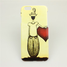 Buy Two Get FREE One Fashion Pattern Printed Case For iphone 6 6s Embossed UV Painting Hard Back Cover High Quality