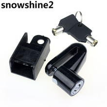 snowshine2 #3522 Hot Scooter Bike Bicycle Motorcycle Safety Anti-theft Disk Brake Rotor Lock free shipping wholesale