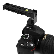 OOTDTY Universal Cold / Hot Shoe Handle Grip Load Low Angle Shooting DSLR Camera Canon/Nikon/Sony/Pentax